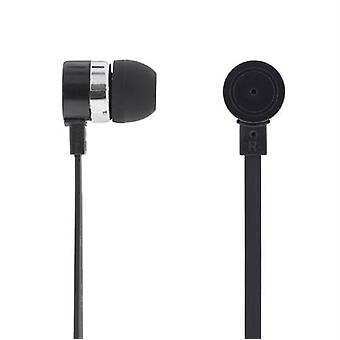 Deltaco Stereo headset, in ear Headphones, Black