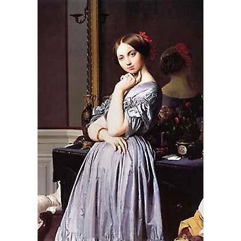 Portrait of Vicomtesse Louise-Albertine,Jean Auguste Dominique Ingres