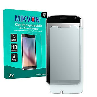Motorola XT1058 Screen Protector - Mikvon Clear (Retail Package with accessories) (reduced foil)