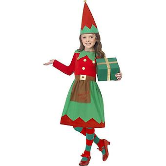 Santa's Little Helper Costume, Medium Age 7-9