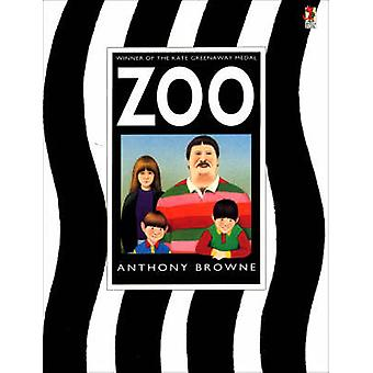 Zoo by Anthony Browne - Anthony Browne - 9780099219019 Book