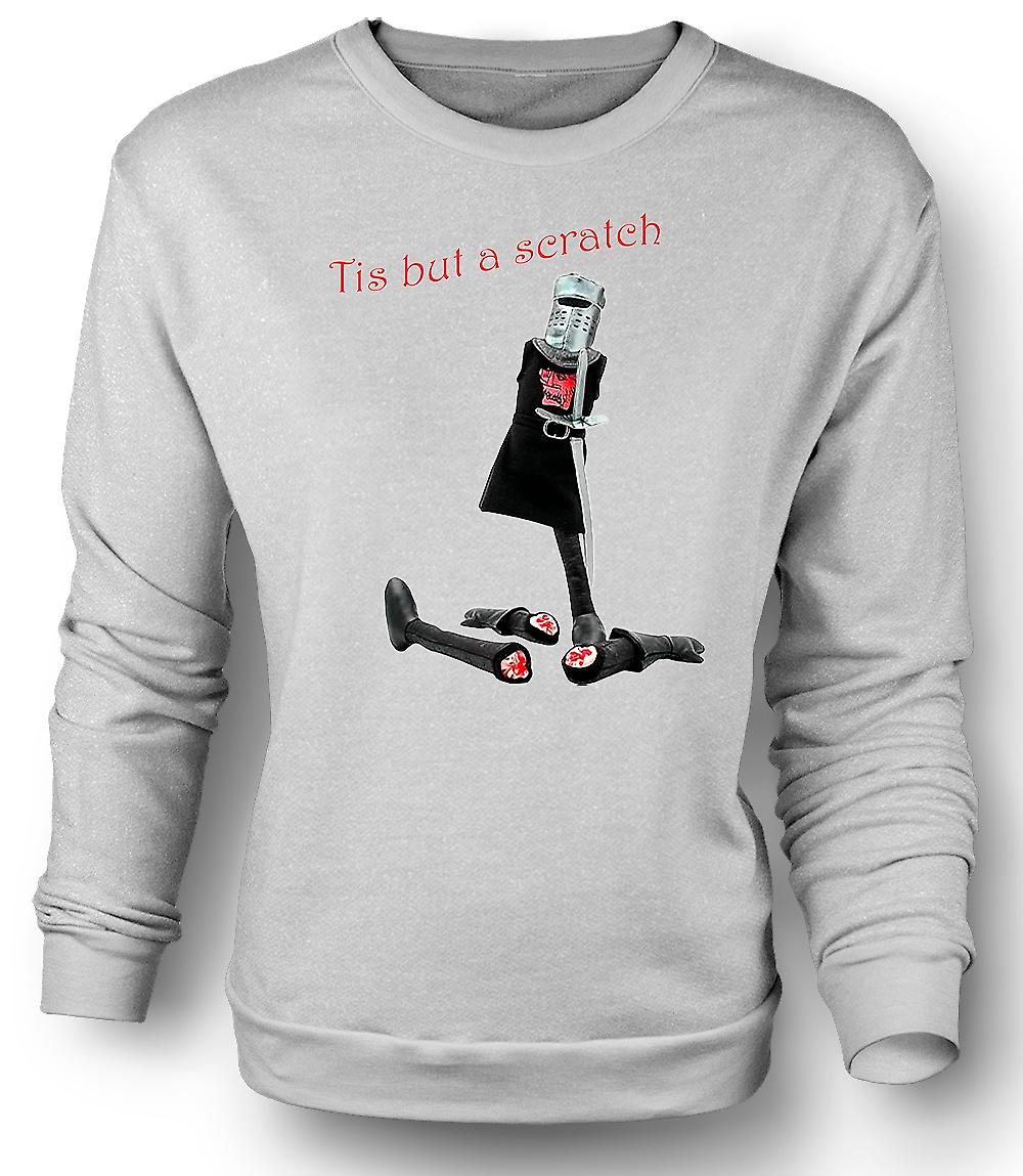 Mens Sweatshirt Monty Python - Tis But A Scratch