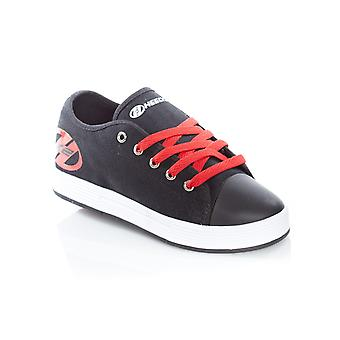 Heelys Black-Red Fresh Kids Two Wheel Shoe