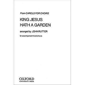 Rey Jesús tiene un jardín: partitura Vocal