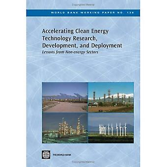 Accélération propre recherche de technologie énergétique, développement et déploiement: leçons tirées des secteurs Non énergétiques