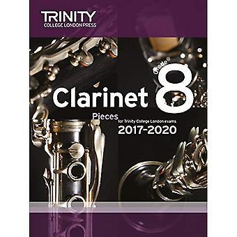 Clarinet Exam Pieces Grade 8 2017 2020 (Score & Part)
