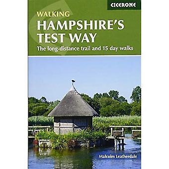 Marchant Test chemin du Hampshire: les randonnées longue distances de trail et 15 jours