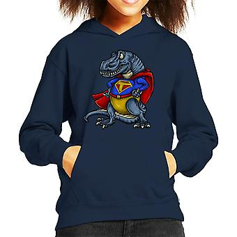 Super Trex Kid's Hooded Sweatshirt
