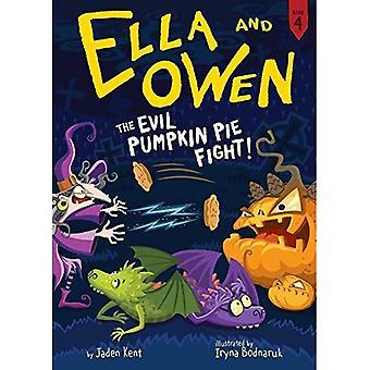 #4: The Evil Pumpkin Pie Fight! (Ella and Owen)
