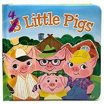 4 Little Pigs: Small Padded Board Book 3 Pack (Little Bird Stories) [Board book]