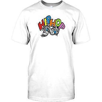 Hip Hop Trainer - cooles Design-Herren-T-Shirt