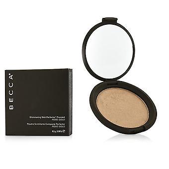 Perfeccionador de piel brillante presionado polvo - # Rose Gold - 8 0,28 gr