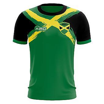 2019-2020 Jamaica Flag Concept Football Shirt