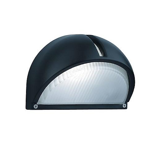 Searchlight 130 Modern Outdoor Black Aluminium Exterior Wall Light