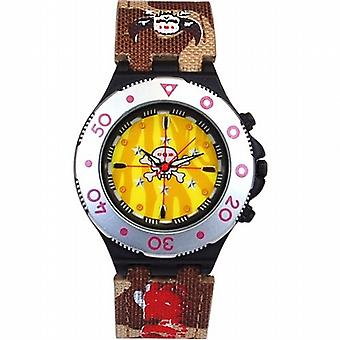 Call Of Duty Boy's Brown Cameo Crosshairs Icon Analogue  Watch