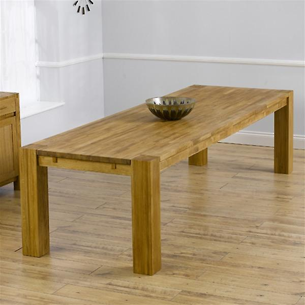 Mark Harris 3m Madrid Solid Oak Dining Table