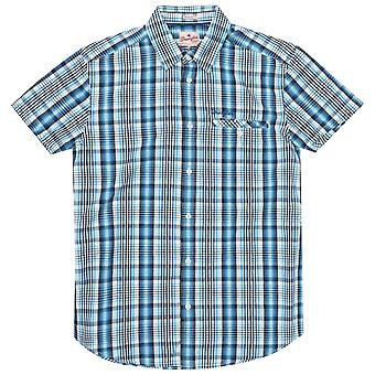 Wrangler Western Check Shirt, Blue
