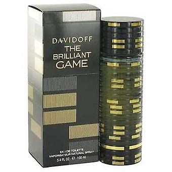 The Brilliant Game By Davidoff Eau De Toilette Spray 3.4 Oz (men) V728-518155