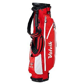 Volvik levende stativ letvægts bære Golf taske rød