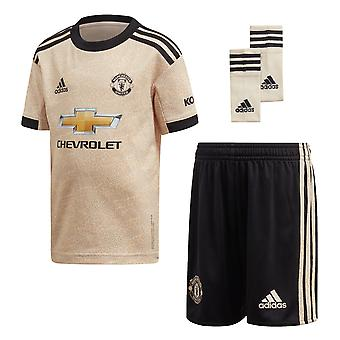 Adidas Manchester United 2019/20 Kids Junior mini away Voetbal Kit linnen