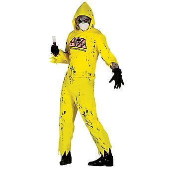 Costume de robe de fantaisie de zombie de Mens