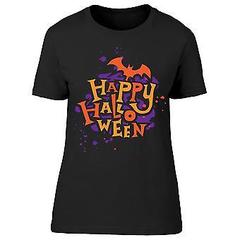 Camiseta gráfica de Halloween Bats Women's -Imagen por Shutterstock