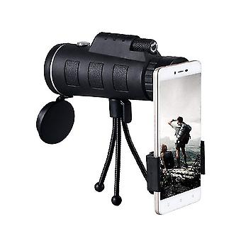 40x60 monocular telescope hd mini monocular for outdoor hunting camping set 3