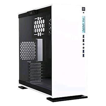 Inwin 303 cabinet midi-tower vetro bianco temperato