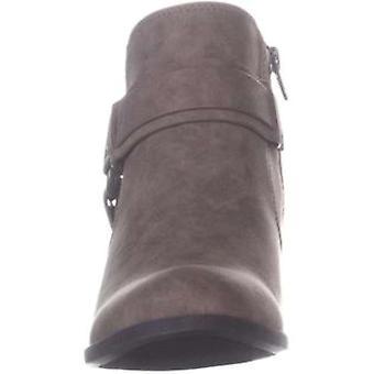 Indigo Rd. Womens Sansun 2 Fabric Round Toe Ankle Fashion Boots