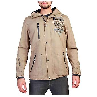Geographical Norway Clement Men Brown Jackets -- Clem632112