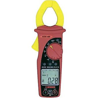 Current clamp, Handheld multimeter digital Beha Amprobe ACDC-400-D Calibrated to: Manufacturer's standards (no certifica