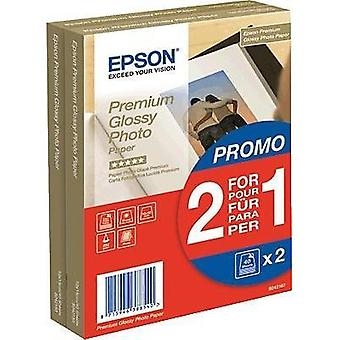 Photo paper Epson Premium Glossy Photo Paper C13S042167 10 x 15 cm 255 gm² 80 Sheet High-lustre
