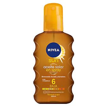 Nivea Sun Oil Spray SPF 6 200 Ml