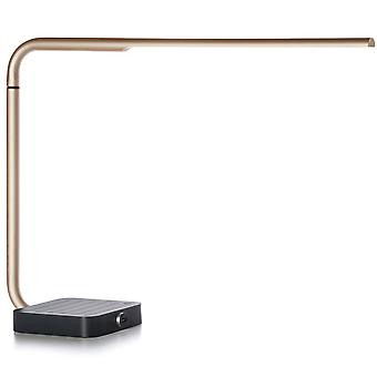 Lexon Yari Gold Modern Desk Lamp
