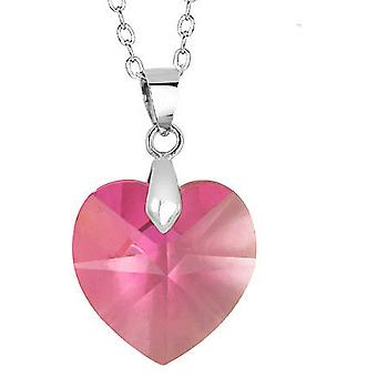 Chic Innovative Technology Adorned Heart Necklace