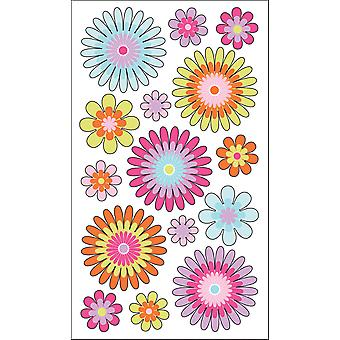 Sticko Stickers-Playful Blooms E5200177