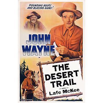 The Desert Trail Us Poster Art Gabby Hayes John Wayne 1935 Movie Poster Masterprint