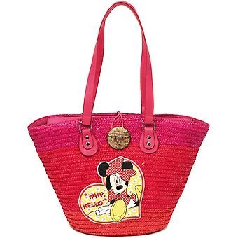 Straw bag Disney Minnie