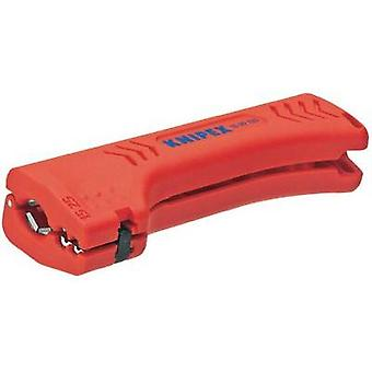 Cable stripper Suitable for Round cable, Wet room cables 8 up to 13 mm 1.5 up to 2.5 mm² Knipex 16 90 130 SB