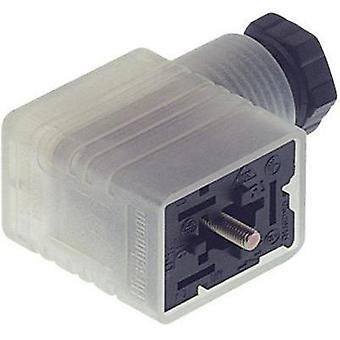 Hirschmann 934 458-002 GML 216 NJ LED 24 HH Contact Box With Functional Display Black Number of pins:2 + PE