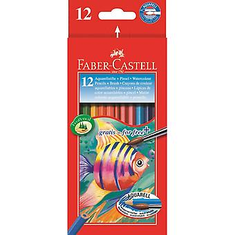 Redline Aquarelle pencil F-C 12/box