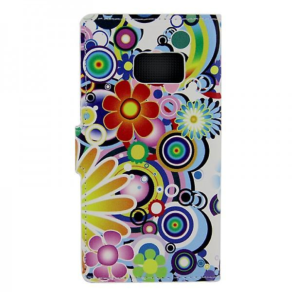 Cover wallet pattern 1 for Samsung Galaxy S6 edge G925 G925F