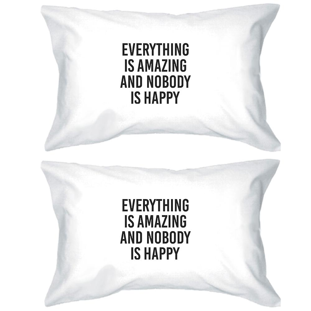 Case Everything Quote Pillow Cotton Decorative Is Funny Amazing QhroCsBtdx