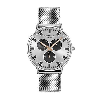 Kenneth Cole New York men's watch wristwatch stainless steel 10031468