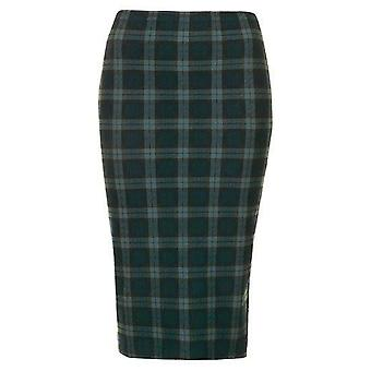 Black Watch Green Tartan Tube Skirt SK198-8