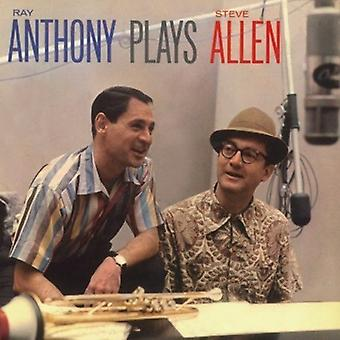 Ray Anthony - Plays Steve Allen + Like Wild [CD] USA import
