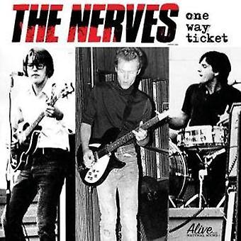 Nerver - One Way billet [CD] USA importerer