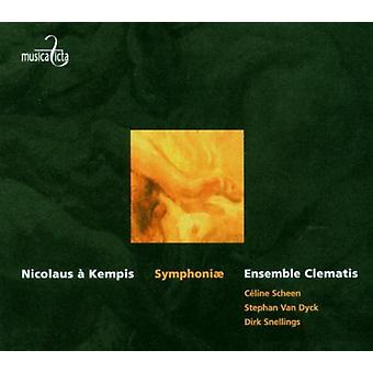 Kempis / De Failly / Ensemble Clernatis / Scheen - Symphoniae [CD] USA import