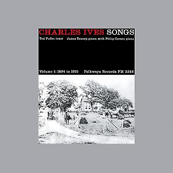 Ted Puffer - Charles Ives: Songs, Vol. 1, 1894-1915 [CD] USA import