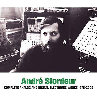 André Stordeur - André Stordeur: Komplet Analog & Digital elektronisk musik 1978-00 [CD] USA import